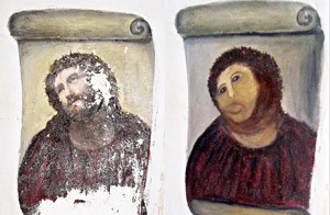 restoration. painting-spain